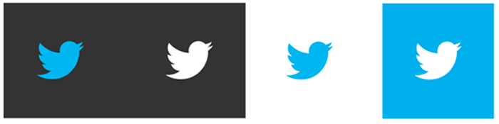 twitter logo multiple birds