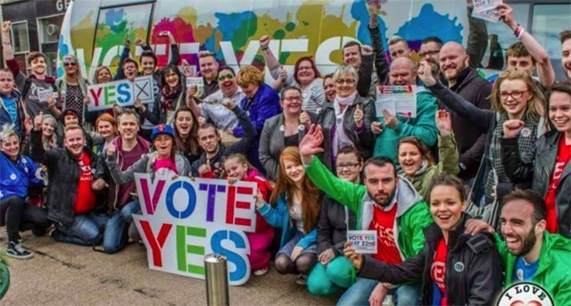 Ireland says YES! to equality in world-first vote