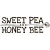 Sweet Pea and Honey Bee