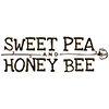 Sweet Pea and Honey Bee