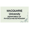 Macquarie University – Department of Physics and Astronomy